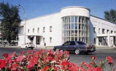 Здание Дворца бракосочетания
