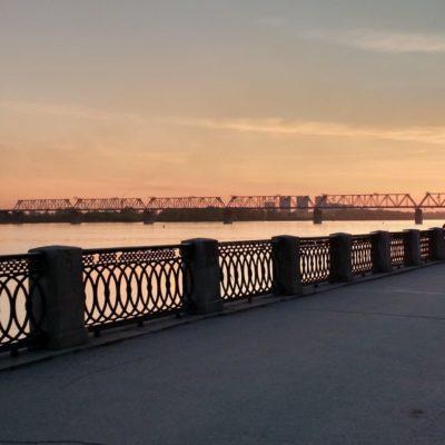 Набережная Новосибирск